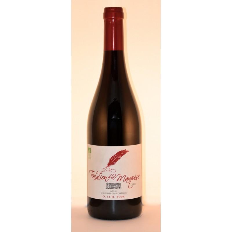grignan les adhemar domaine de la grange verte tentation de la marquise 2015 vins delaby
