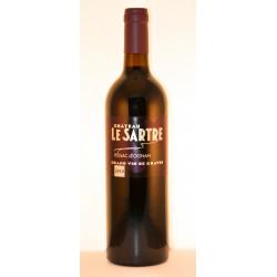 PESSAC LEOGNAN CHATEAU LE SARTRE ROUGE 2010 1/2 bouteille