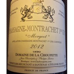 CHASSAGNE MONTRACHET ROUGE DOMAINE DE LA CHOUPETTE 2012